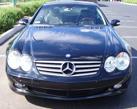 2003 Mercedes Benz SL500 Hardtop Convertible - photos2